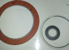 Metal ring reinforced gaskets