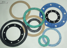 Rubber gaskets for outside water suply systems